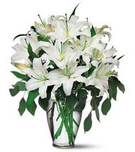 Simply Elegant Lilies