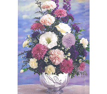 Teleflora Crystal Swan Bowl Bouquet