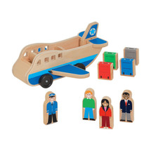Melissa & Doug® Wooden Airplane Play Set