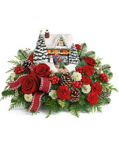 A Hero's Welcome Thomas Kinkade Bouquet