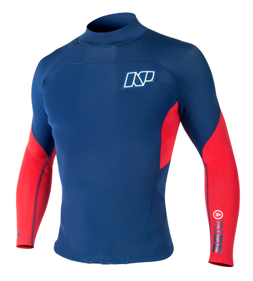 NP Rise Neo Top 2mm Neoprene Long Sleeve Shirt 60% off red