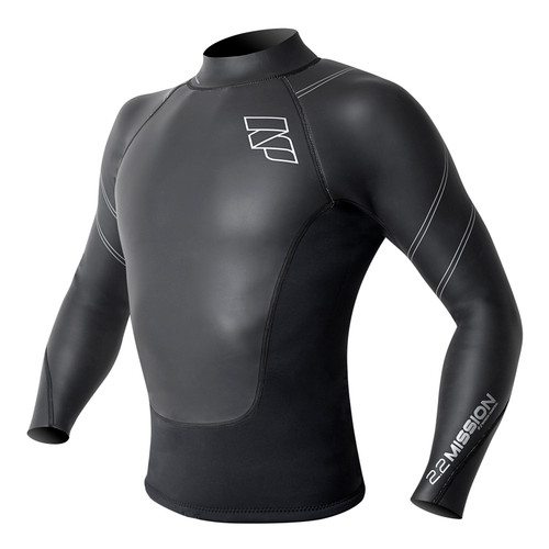 NP Surf Mission Long Sleeve 2mm Neoprene Top 75% off!
