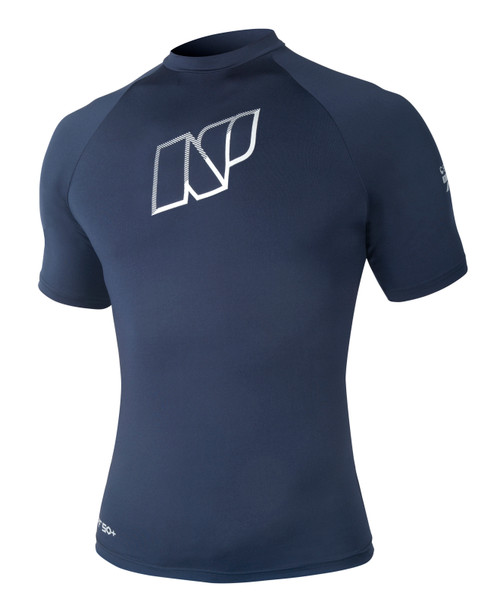 Neil Pryde / NP Contender Short Sleeve Navy Soft Rashguard shirt 70% off