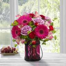 The Pink Exuberance Bouquet by Better Homes and Gardens