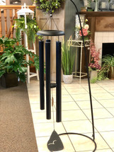 "Wind Chime 50"" Solid Color - Available in Red, Green & Blue (LOCAL DELIVERY ONLY) Stand not included"