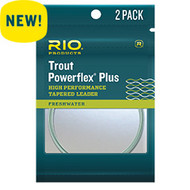 RIO Trout Powerflex Plus Leaders (2-Pack)