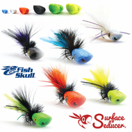 Surface Seaducer Double Barrel Popper Heads