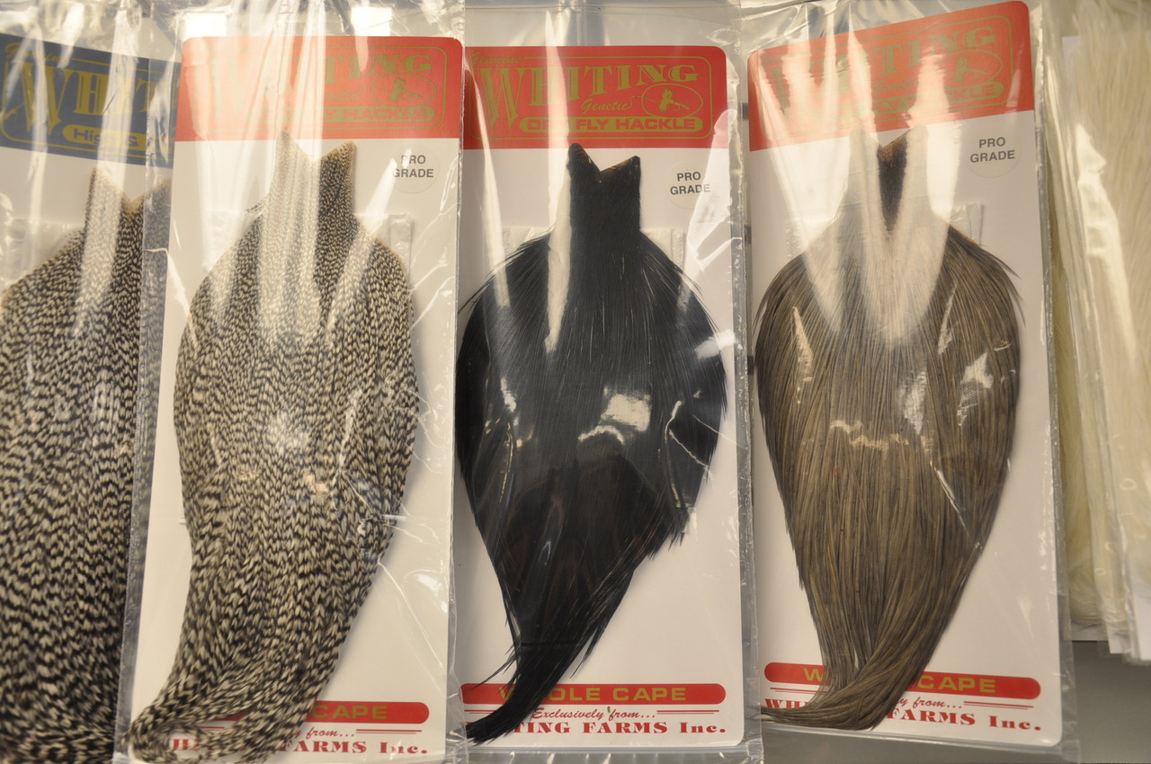 Whiting Pro Grade Whole Cape (Dry Fly Hackle)