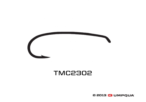 TIEMCO 100 PACK TMC200R SIZE 20 NYMPH FLY FLY-TYING HOOKS