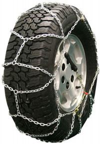 Quality Chain 2328LW - Diamond Back LT 3.7mm Link Tire Chains (Pull Chain Adjuster Style)