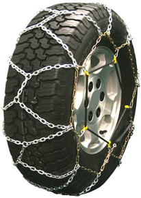 Quality Chain 2319LW - Diamond Back LT 3.7mm Link Tire Chains (Rubber Adjuster Style)