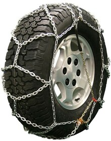 Quality Chain 2533Q - Diamond Back LT 5.5mm Link Tire Chains (Pull Chain Adjuster Style)