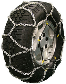 Quality Chain 2514Q - Diamond Back LT 5.5mm Link Tire Chains (Rubber Adjuster Style)