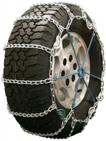Quality Chain 2219QC - Road Blazer 5.5mm Link Tire Chains (Cam)