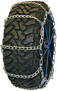 Quality Chain 3227QC - Road Blazer Wide Base 7mm Link Tire Chains (Cam)