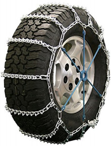 Quality Chain 2821 - Road Blazer 5.5mm V-Bar Link Tire Chains (Non-Cam)