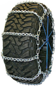 Quality Chain 3827QC - Road Blazer Wide Base 7mm V-Bar Link Tire Chains (Cam)