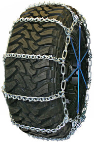 Quality Chain 3829 - Road Blazer Wide Base 7mm V-Bar Link Tire Chains (Non-Cam)