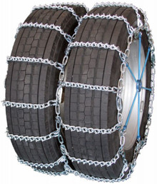 Quality Chain 4828QC - Road Blazer Dual/Triple 5.5mm V-Bar Link Tire Chains (Cam)