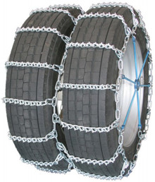Quality Chain 4821 - Road Blazer Dual/Triple 5.5mm V-Bar Link Tire Chains (Non-Cam)