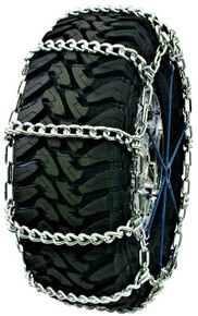 Quality Chain 3435HH - Wide Base Mud Service 10mm Link Tire Chains (Non-Cam)