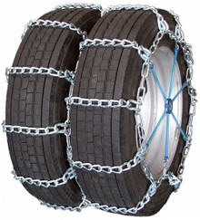 Quality Chain 4419HH - Dual/Triple Mud Service 8mm Link Tire Chains (Non-Cam)