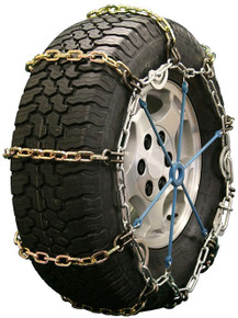 Quality Chain 2128HDQC - Heavy Duty 7mm Alloy Square Link Tire Chains (Cam)