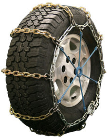 Quality Chain 2128RHD - Heavy Duty 7mm Alloy Square Link Tire Chains (Non-Cam)