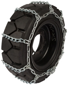 Quality Chain 1504 8mm Link Skid Steer Tire Chains