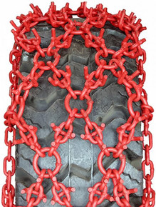 Quality Chain NCU245-18 U-Grip Net Alloy Forestry Skidder Tire Chains
