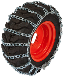 Quality Chain 1317 4.5mm Link Small Tractor and Utility Tire Chains