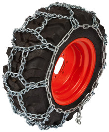 Quality Chain HP1302 5.5mm Link H-Pattern Small Tractor and Utility Tire Chains