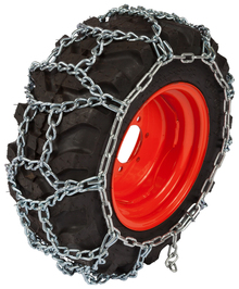 Quality Chain HP1308 5.5mm Link H-Pattern Small Tractor and Utility Tire Chains