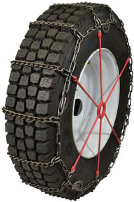 Quality Chain 2247CAML - Road Blazer 5.9mm Light-Weight Alloy Link Truck Tire Chains (Cam)