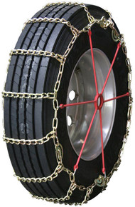 Quality Chain 2247LMC - Road Blazer 7mm Long Mileage Alloy Link Truck Tire Chains (Cam)