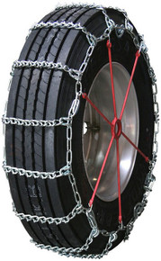 Quality Chain 2857QC - Road Blazer 8mm V-Bar Link Truck Tire Chains (Cam)