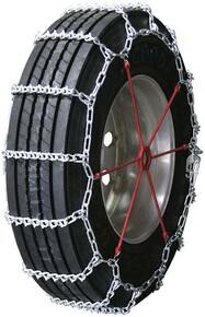 Quality Chain 2841 - Road Blazer 7mm V-Bar Link Truck Tire Chains (Non-Cam)