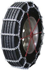 Quality Chain 2857 - Road Blazer 8mm V-Bar Link Truck Tire Chains (Non-Cam)