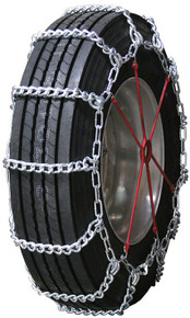 Quality Chain 2448HH - Mud Service 10mm Link Truck Tire Chains (Non-Cam)