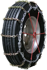 Quality Chain 2145SLC - 7mm Alloy Square Link Truck Tire Chains (Cam)