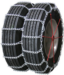 Quality Chain 4257QC - Road Blazer Dual/Triple 8mm Link Truck Tire Chains (Cam)