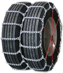 Quality Chain 4251 - Road Blazer Dual/Triple 8mm Link Truck Tire Chains (Non-Cam)
