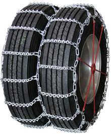 Quality Chain 4845QC - Road Blazer Dual/Triple 7mm V-Bar Link Truck Tire Chains (Cam)