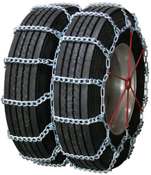 Quality Chain 4437HH - Dual/Triple Mud Service 10mm Link Truck Tire Chains (Non-Cam)