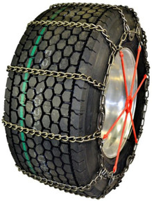 Quality Chain 3255CAML-7 - Road Blazer Wide Base 7mm Light-Weight Alloy Link Truck Tire Chains (Cam)