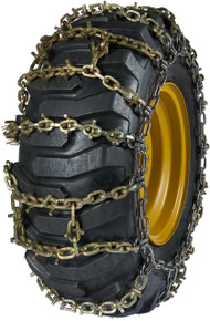 Quality Chain 8114MTU - Maxtrack 11mm Alloy Square U-Grip Link H-Pattern Loader/Grader Tire Chains