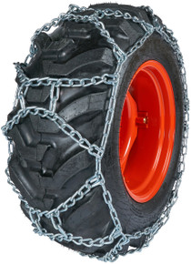 Quality Chain DUO252 - Duo Grip 10mm Link H-Pattern Tractor Tire Chains