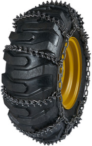 Quality Chain 9957 - 13.5mm Premium Alloy Studded Link Loader/Grader Tire Chains