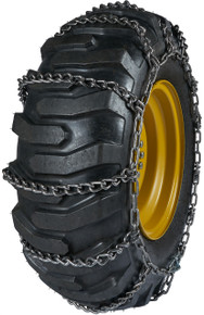 Quality Chain A2642 - 11mm Premium Link Loader/Grader Tire Chains