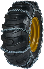 Quality Chain 2615V - 10mm V-Bar Link Loader/Grader Tire Chains